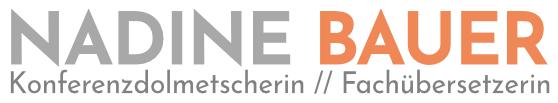 Nadine Bauer - Konferenzdolmetscherin, Fachübersetzerin